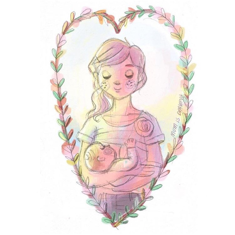 Breastmilk is love turned into food 💛 so keep on giving that delicious love mamas! Happy #nationalbreastfeedingweek ☺️👶💕