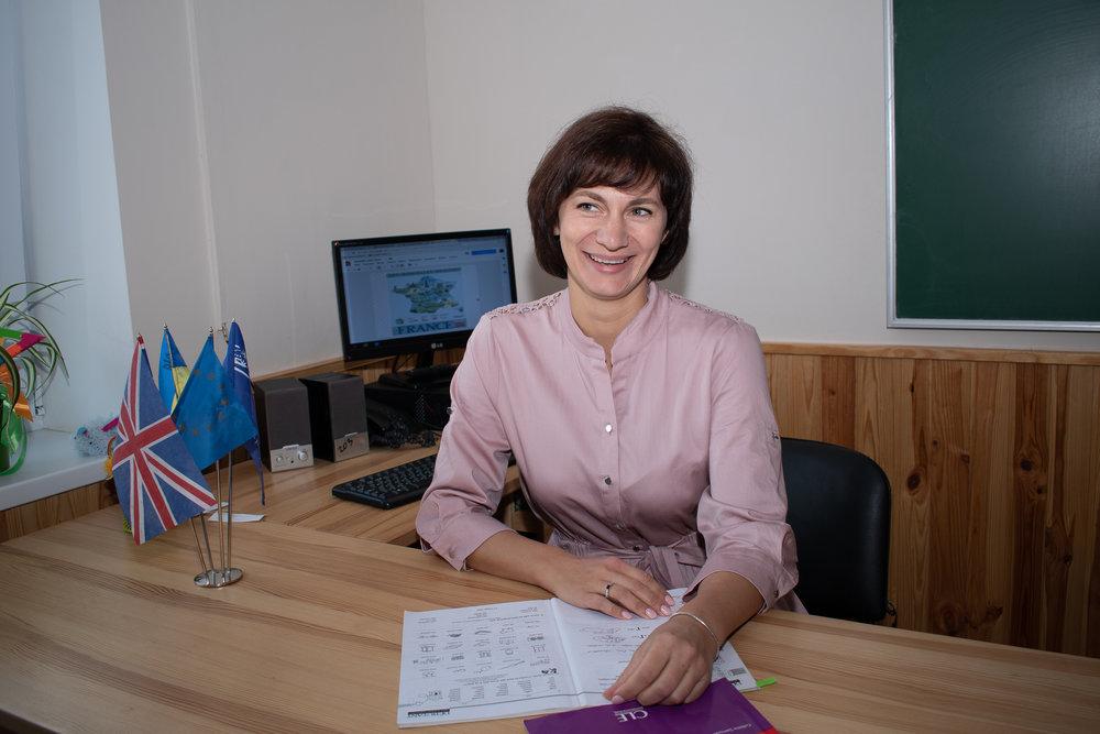 Дудковська Ірина Георгіївна - вчитель французької мови