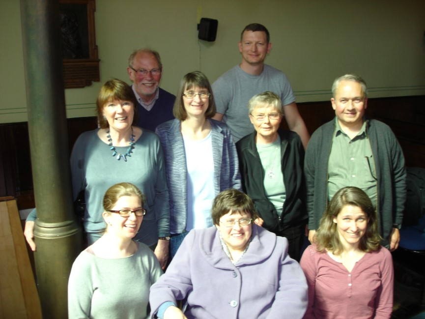 Members of Council from left to right, back row, Brian Robertson; David Wood; middle row, Mary McKenna; Margery MacKay; Ann Sinclair; Jon Bagust; front row, Kate Foggo, Jane Aaronson and Ida Silkenat.