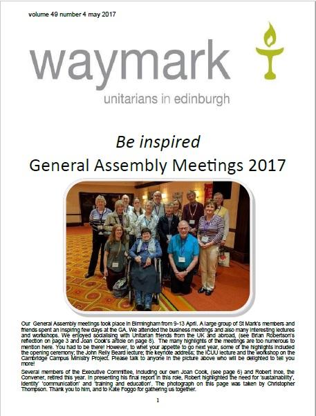 Waymark May 2017