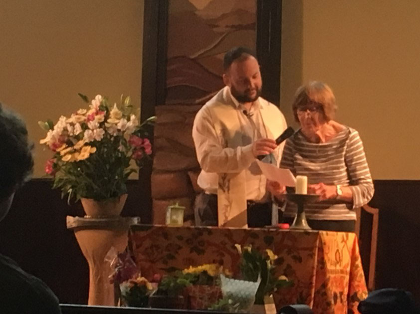 This was the theme of the service on 29 July, led by our minister, Rev Peter Fairbrother.    Elizabeth Marshall gave the aptly themed chalice lighting words which opened the service. The photographs are by Peter, and also by Rachael King.