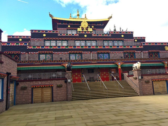 Samye Ling Temple, photo by John Clifford