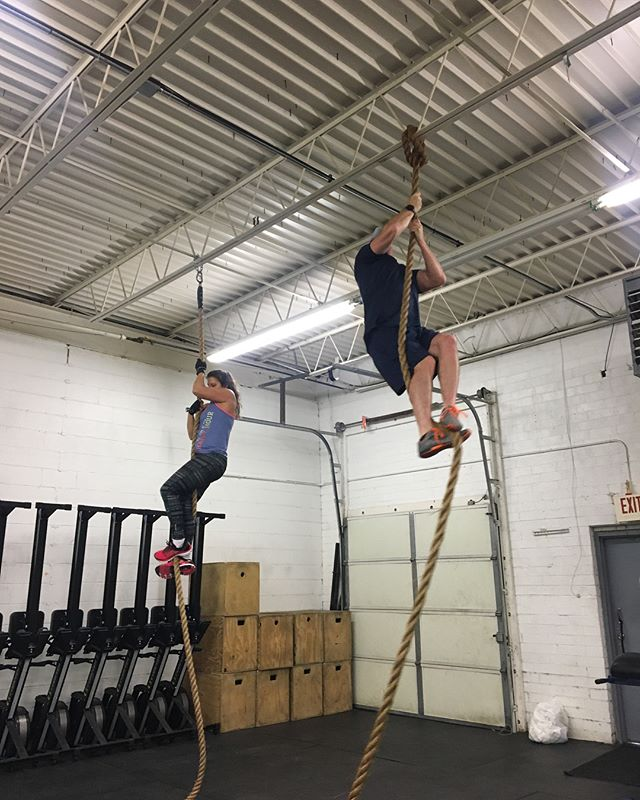 We have seen some serious gains this year in all of the individuals who train with us regularly. With one race under our belt, we are SO excited about everything to come in April (#ocr #marathon #bridgerun ) - join us to get Race ready! #clt #cltfitness #spartantraining #run #ropeclimb