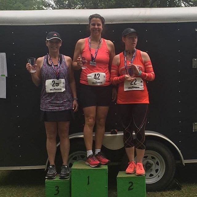 Congrats to @crissygp who WON her age group this past weekend in the King's Mountain Half 👊🏻🏃♀️we have seen you grow so strong over the past year! YGG #ocrtraining #momstrong #fitmom #run #cltfitness #spartantraining #spartanwomen