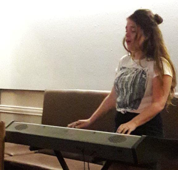 Chloe Merilla Tyghe  performing at Salon48 on 9th May 2018