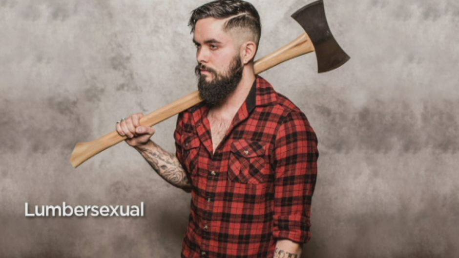 Lumbersexual gay