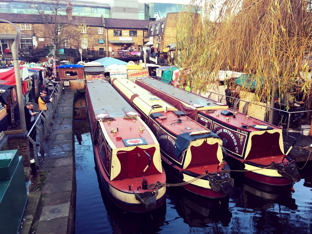Canal at Camden Town