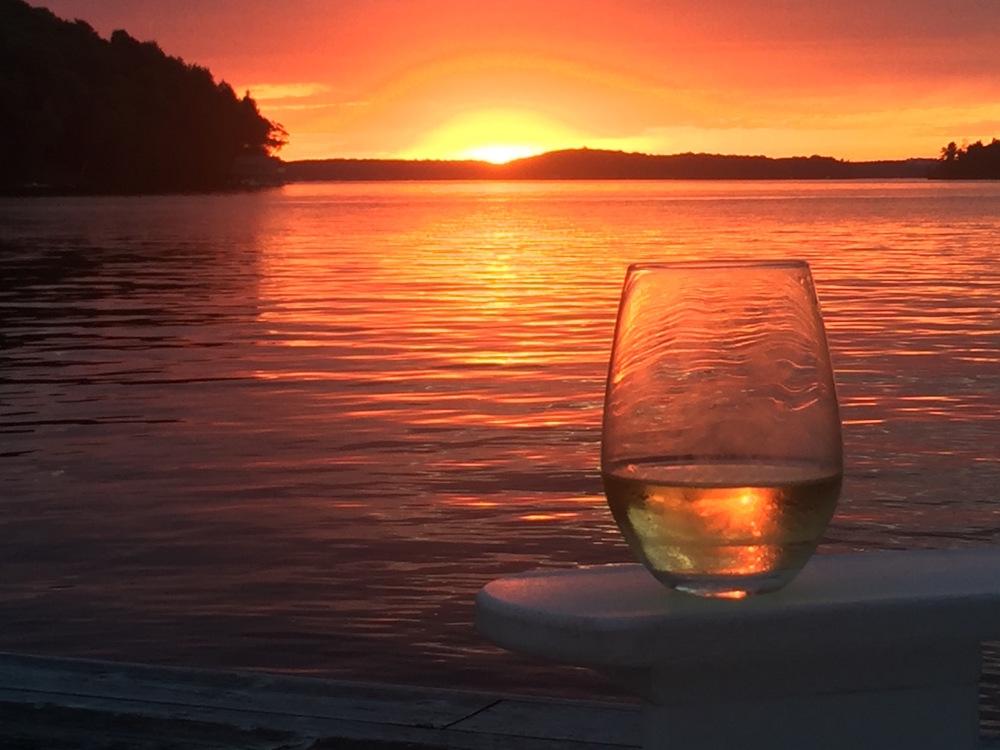 Chardonnay Sunset