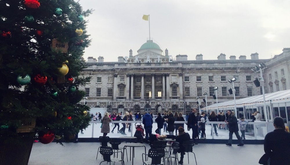 Somerset House Pop-Up Skating Rink