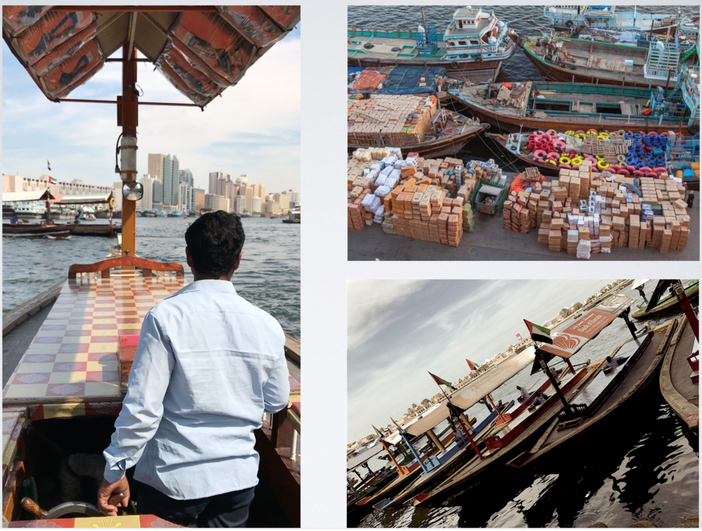 Click on photo to get more of a feel of life on The Dubai Creek.