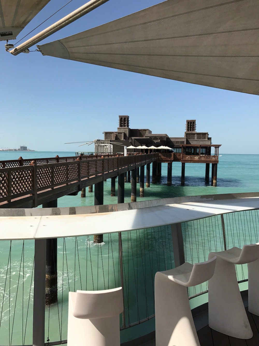 Pierchic Restaurant at Hotel Al Qasr, Dubai