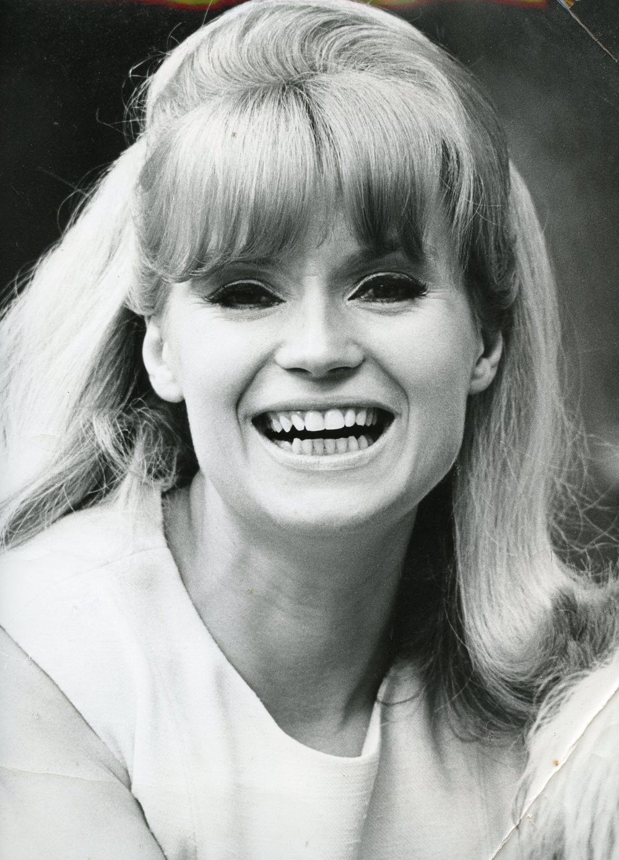 Elena Domo. Fashion Model. 1970's.