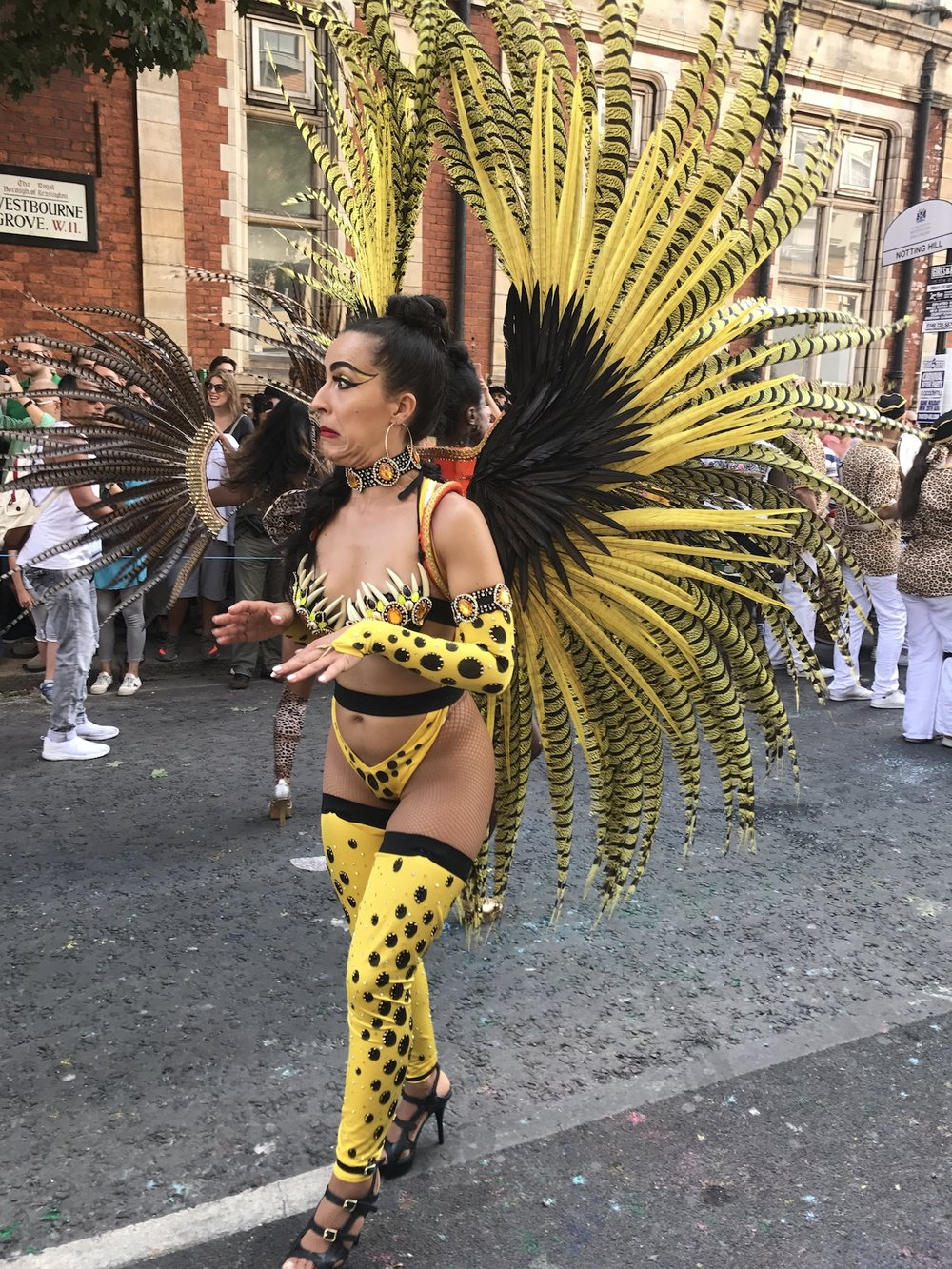 Carnival Goer in Yellow.JPG