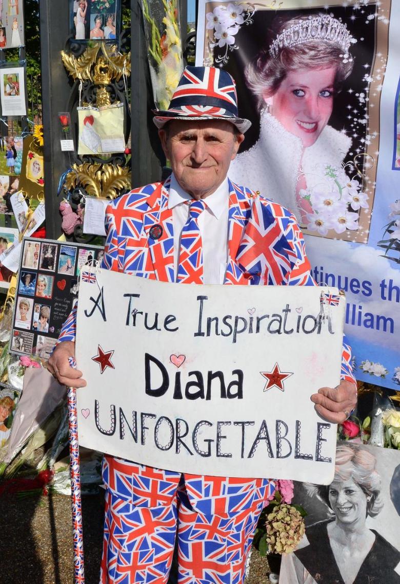 Union Jack Suit, Rembering Diana