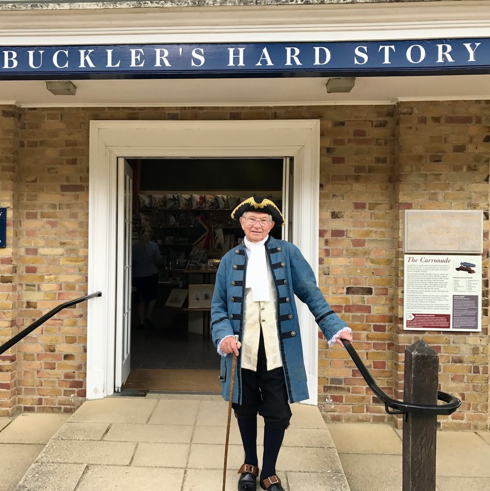 Bucklers Hard Story Man. New Forest
