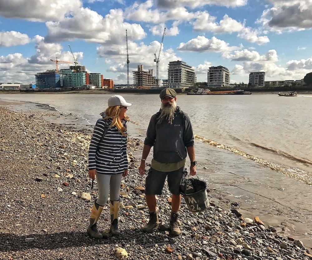 A Broad In London Mudlarking With Mud God on Thames.jpeg