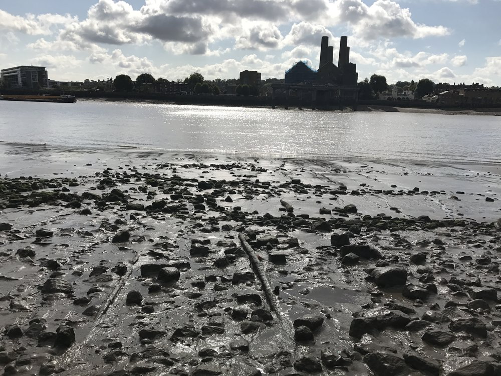 View from The North Bank of Thames River