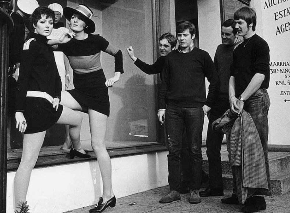 Miniskirts of the 1960's