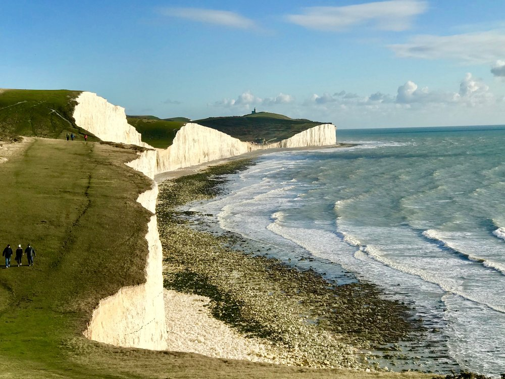 Rolling Cliffs of The Seven Sisters