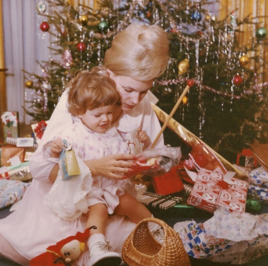 My Mother and Me. Christmas 1962