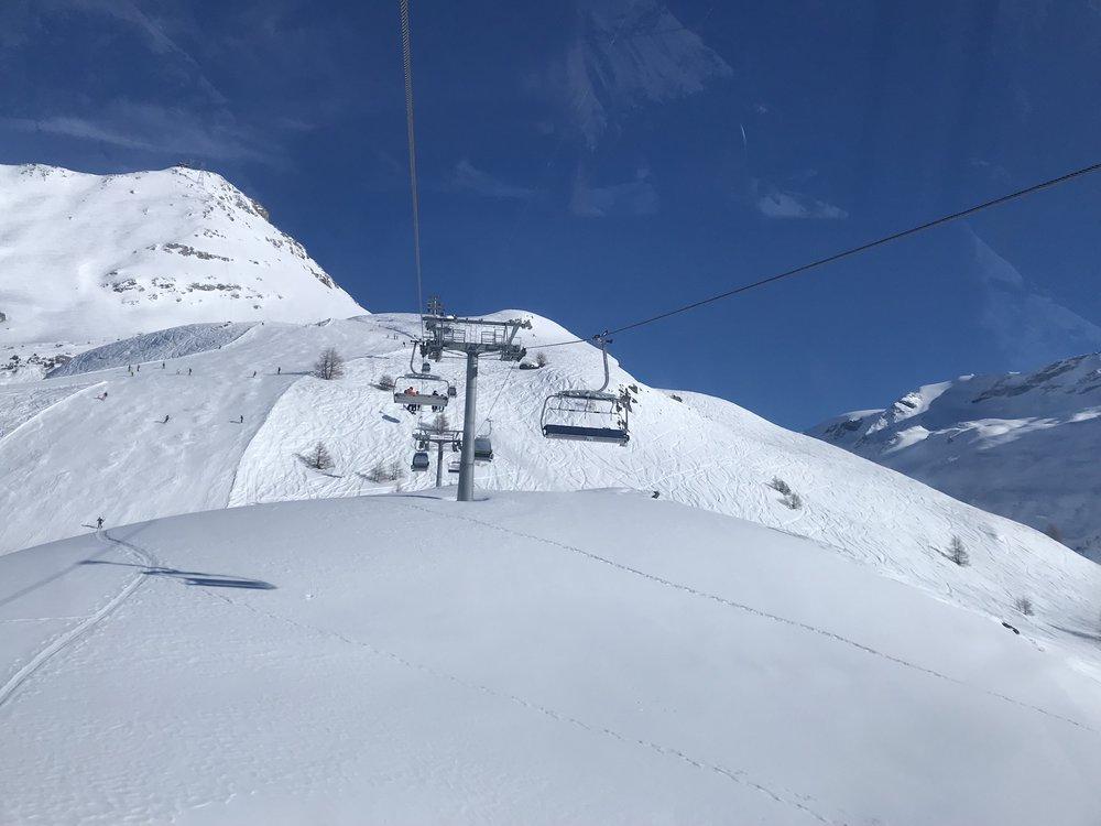 View From A Chair Lift., Zermatt