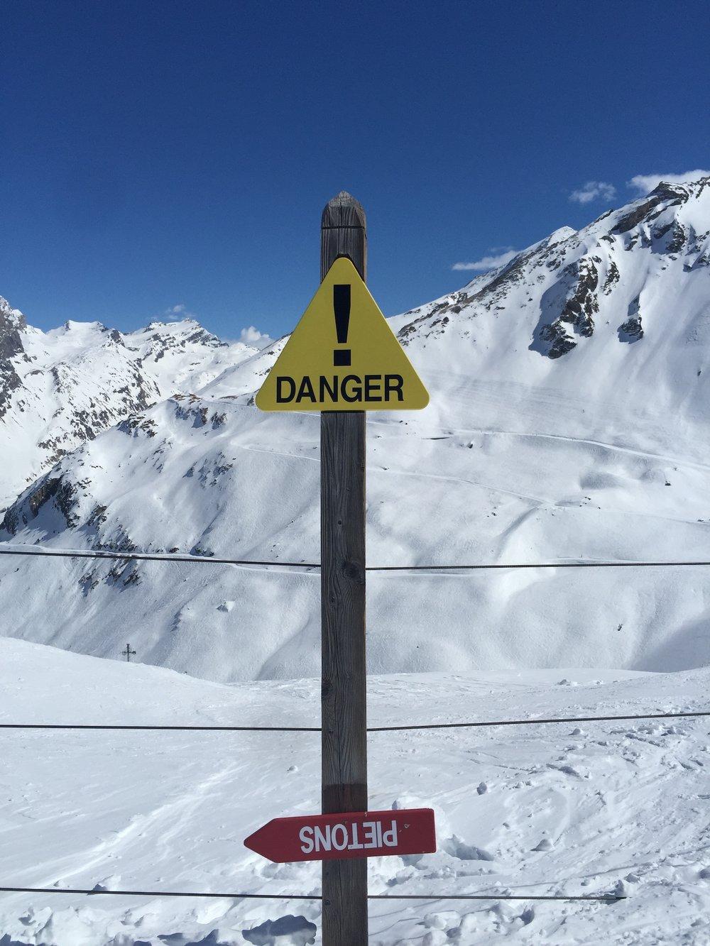 Danger Sign.