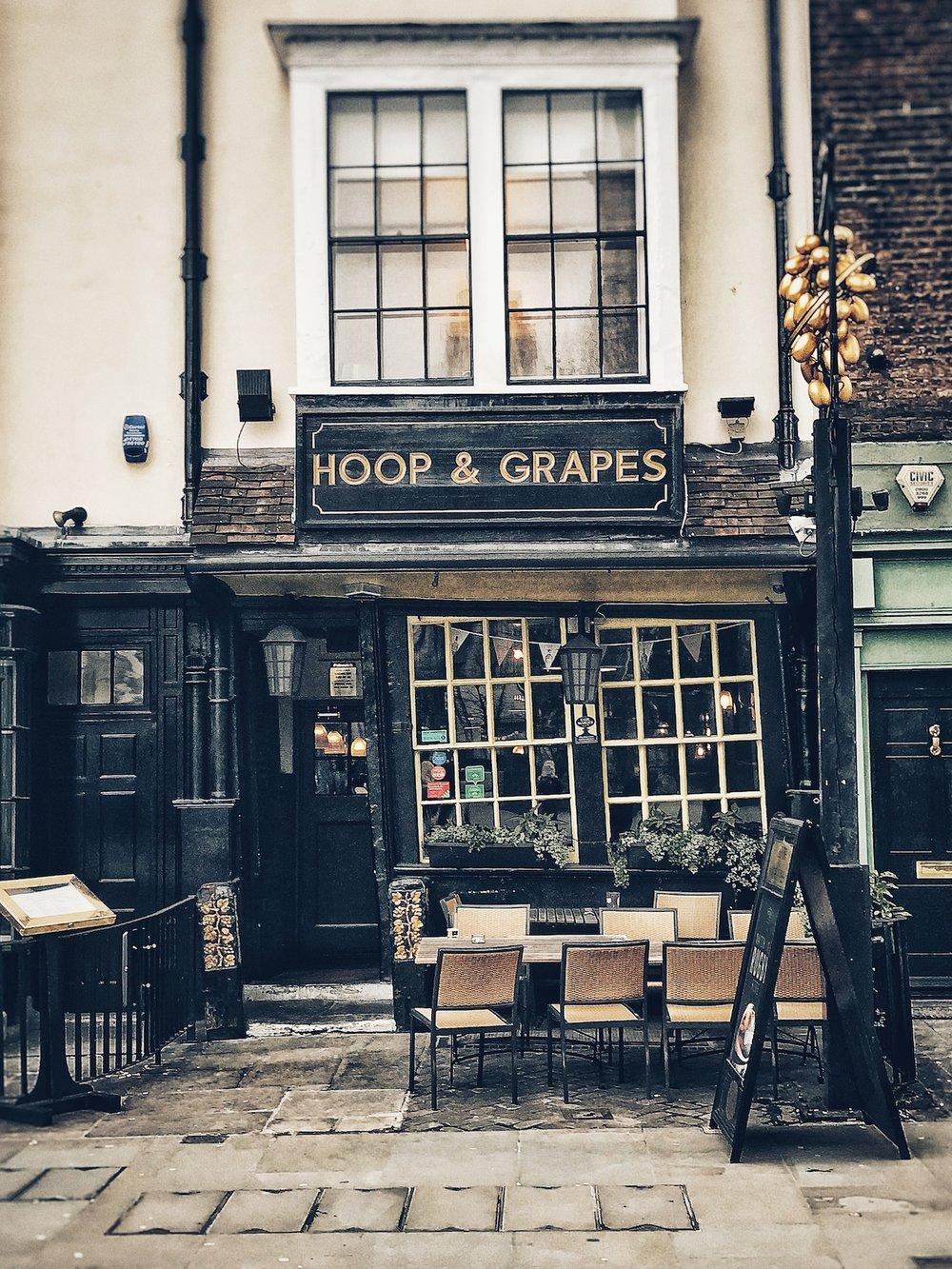 Hoop & Grapes Pub London
