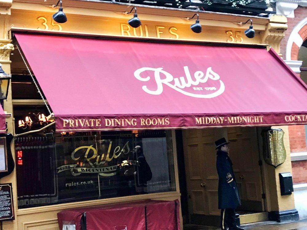 Rules. 34-35 Maiden Lane