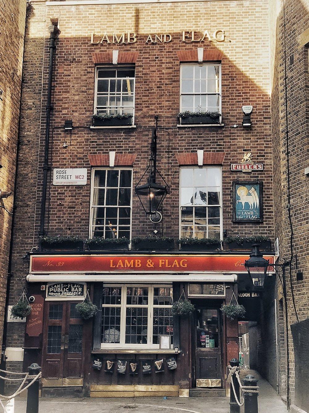 Lamb & Flag 33 Rose St
