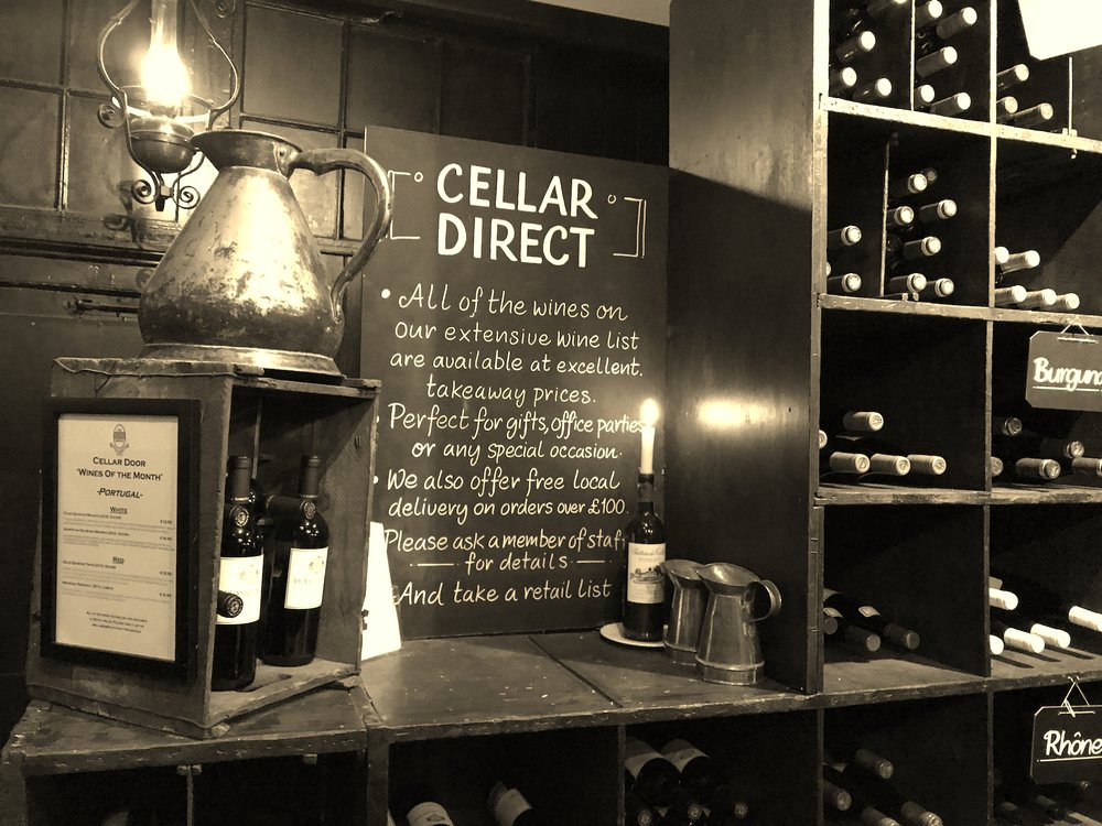 Olde Wine Shades  at the bar London.