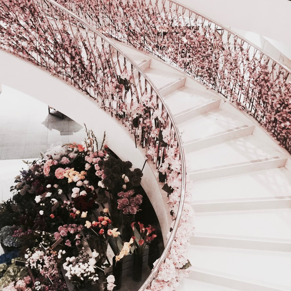 Inside Fortnum and Mason, Piccadilly London