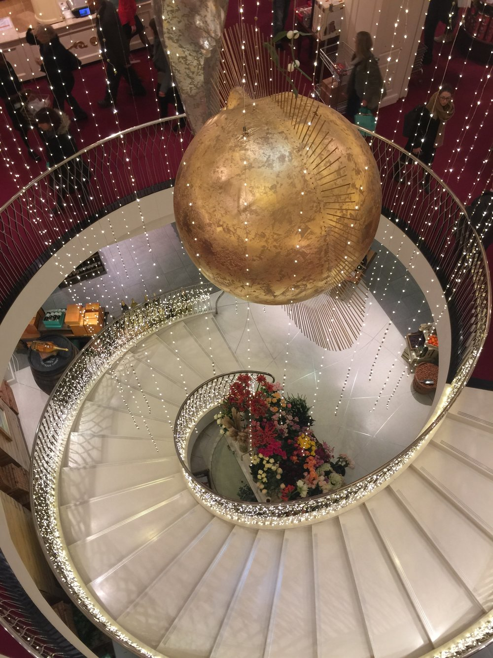 Fortnum and Mason Store at Christmas. Piccadilly London