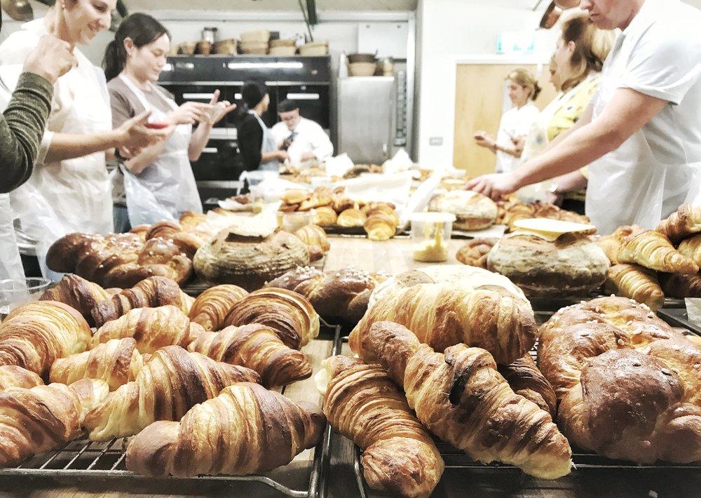 Bread Ahead Bakery. A Broad In London