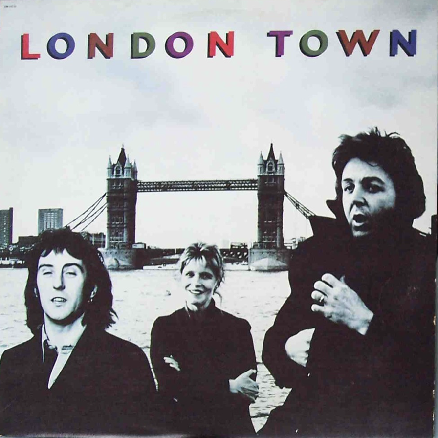 WINGS LONDON TOWN ALBUM COVER