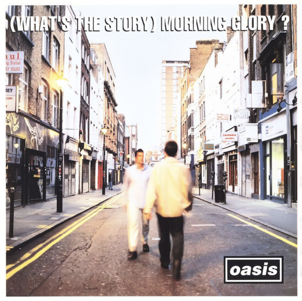 OASIS ALBUM COVER ~ WHAT'S THE STORY MORNING GLORY?
