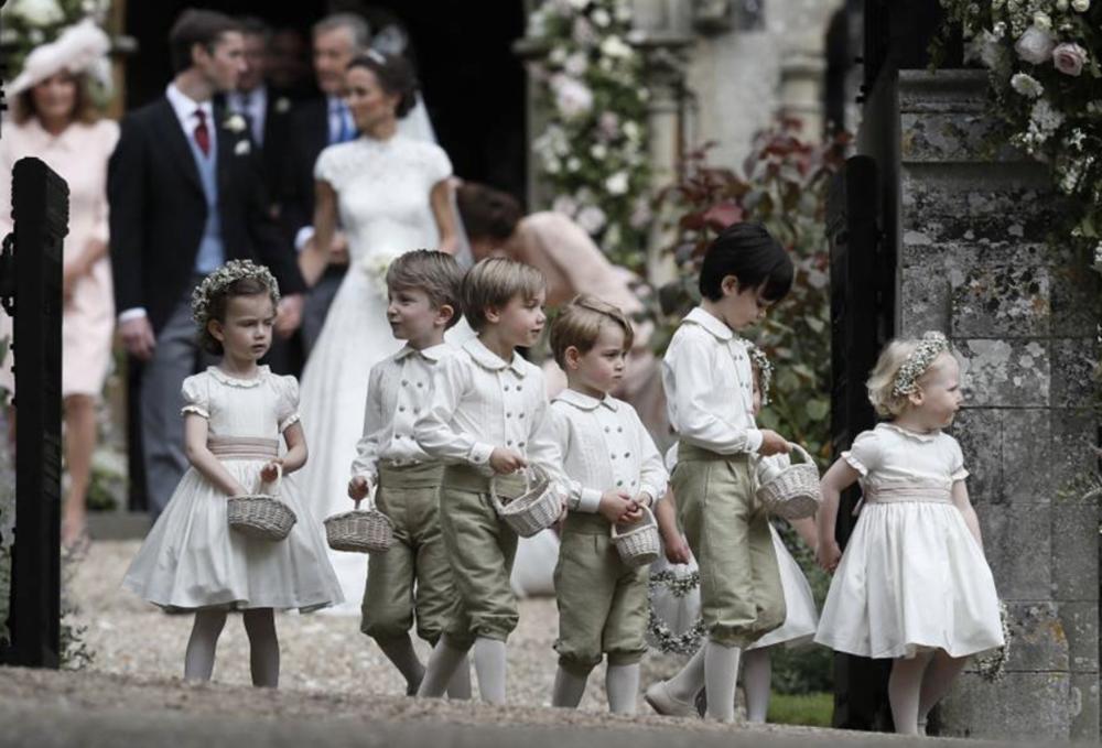 Bridesmaids and Page Boys at Royal Wedding