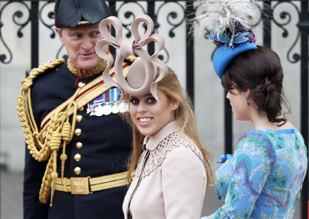 Ladies are Required  To Wear Hats For All Royal Weddings