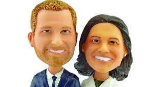 Prince Harry and Meghan Bobble-heads