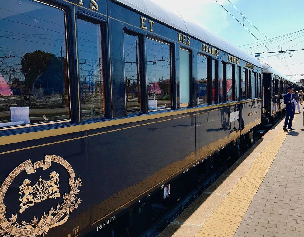 Exterior Orient Express Long Shot.