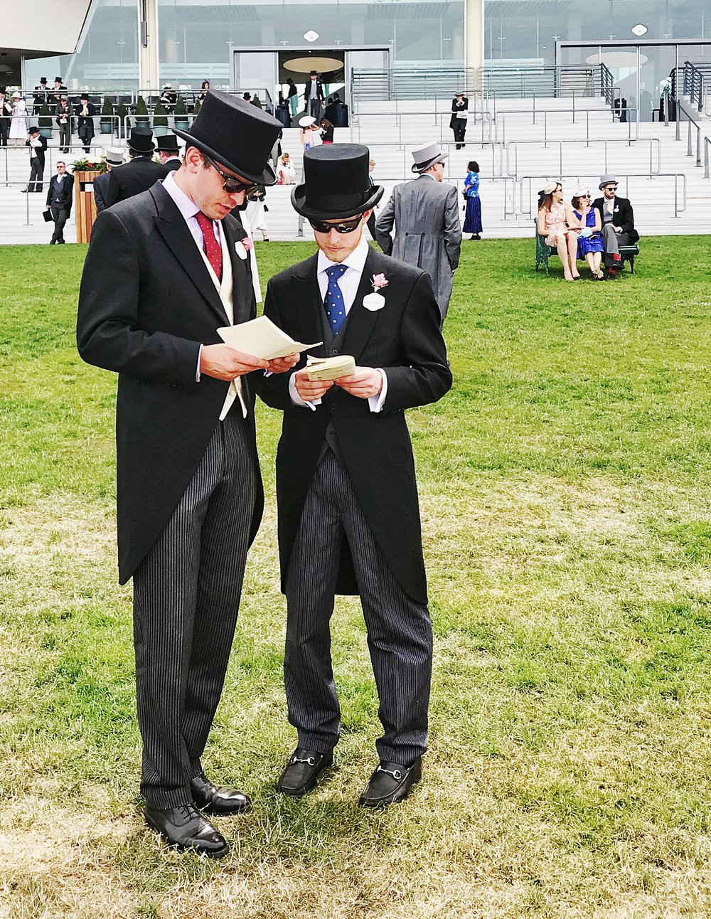 Men Dressed At Ascot