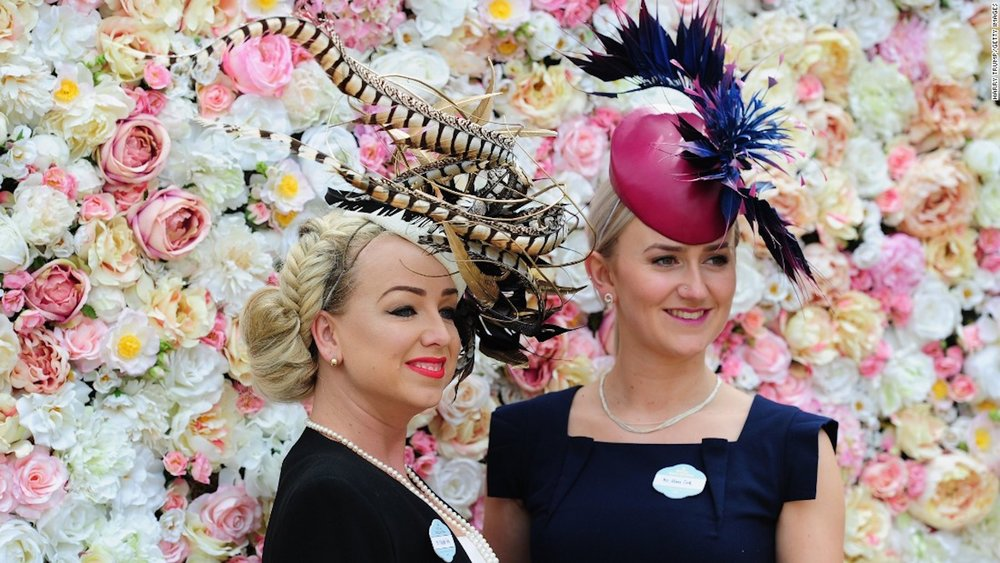 Ladies of Ascot with Interesting hats.jpg