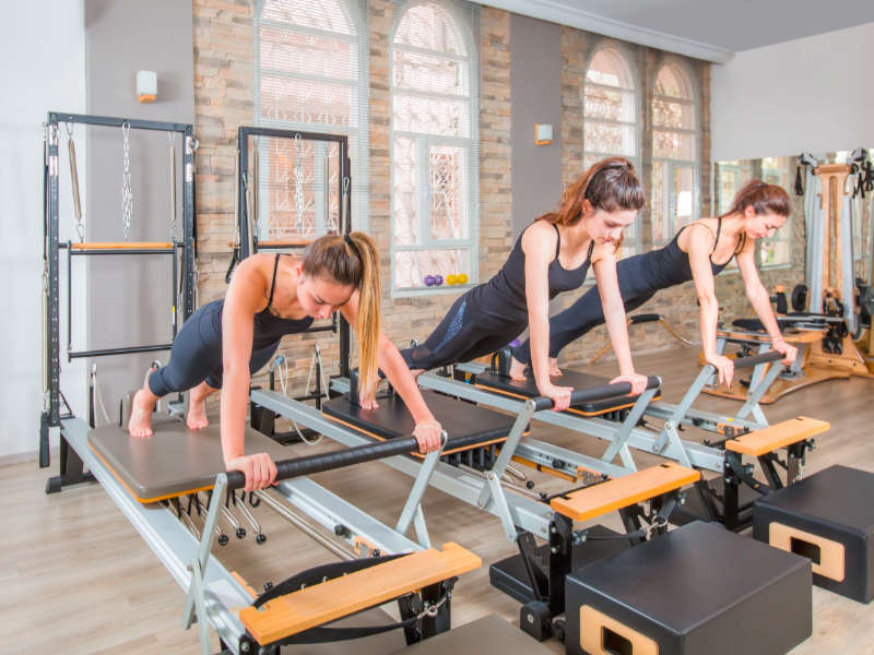Pilates Class. A Broad In London's Top Five Things of 2018