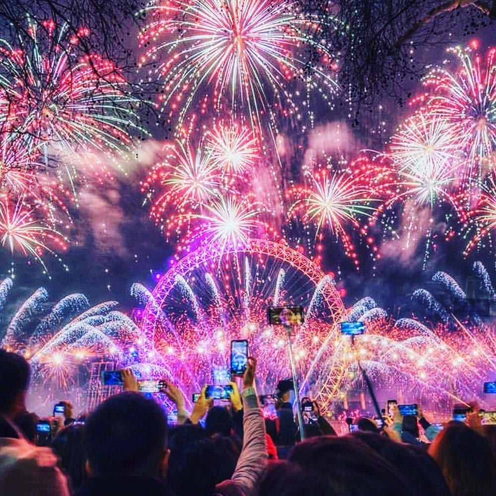 London Fireworks 2019