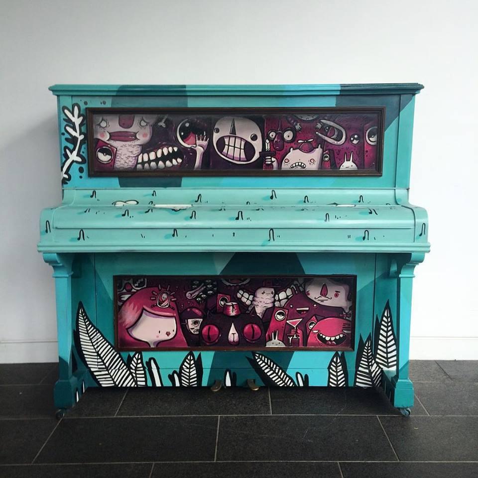 Marlowe theatre Piano