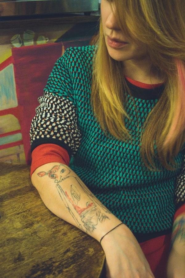 татуировки детские рисунки