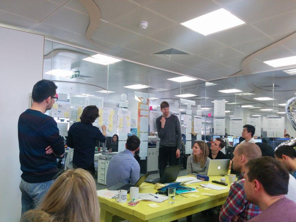 Lender team usability testing feedback session