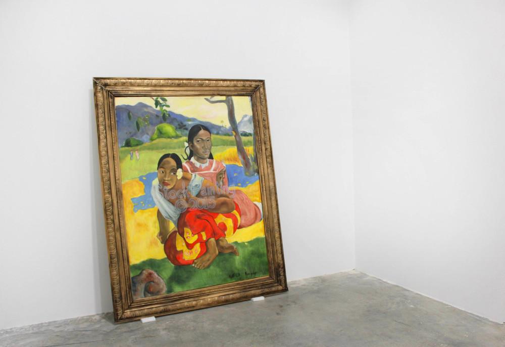 StockPaintingCopyright2015 (After Paul Gauguin), 2015