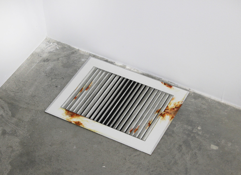 Untitled (Floor Vent), 2015