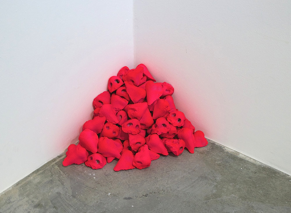 Untitled (Pile of Noses), 2017