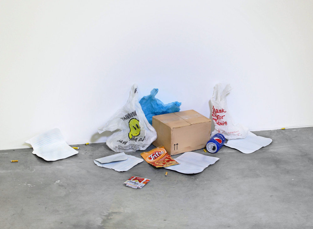 Untitled (Pile of Garbage), 2016